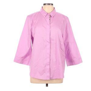 Chico's Quarter Sleeve Button-Down Shirt Size XL 3